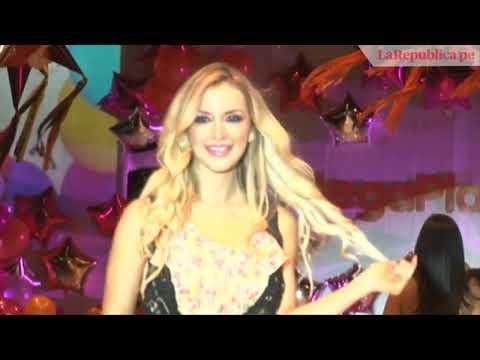 Tilsa Lozano Y Larissa Riquelme Juntas En Desfile Del Centro Comercial Mega Plaza