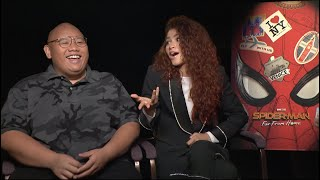 Face it Tiger: Zendaya and Jacob Batalon talk making Spider-Man's romances work