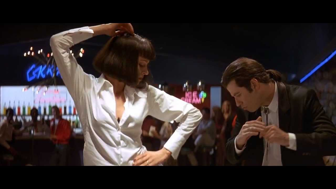 Uma Thurman Pulp Fiction John Travolta and Uma Thurman