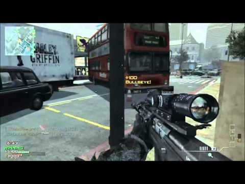 MW3 - Best throwing knife kills  !!!