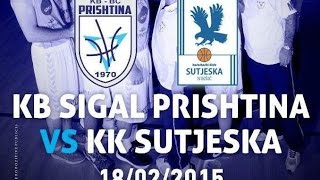 BIBL: KB SIGAL Prishtina 99-92 KK Sutjeska