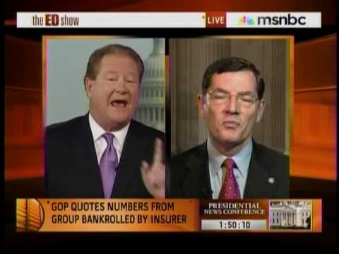Senator John Barrasso, M.D. Talked about Health Care Reform with MSNBC's Ed Schultz