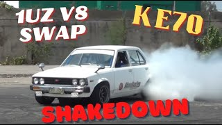 V8  Corolla Burn Out