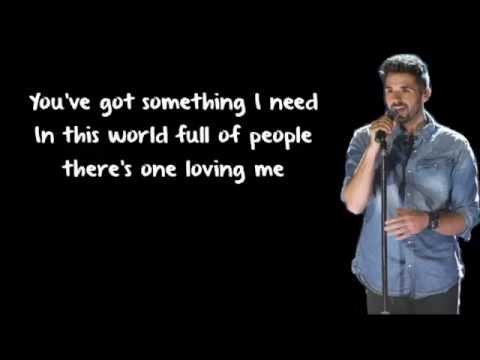 Something I Need - Ben Haenow (Lyrics)