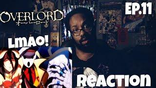 PANDORA'S ACTOR? OVERLORD EPISODE 11 REACTION