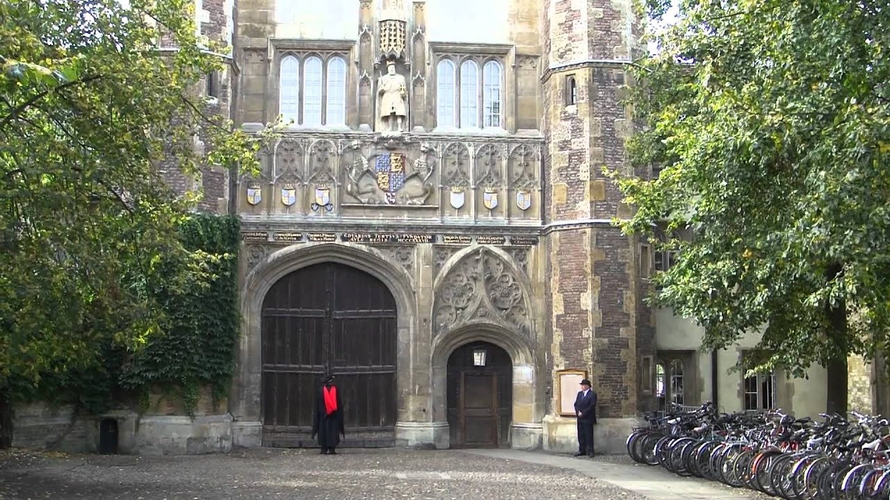 Installation Of The New Master At Trinity College Cambridge Sir Gregory Winter Youtube