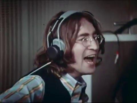 The Beatles: Hey Jude Rare Video In Studio Remastered 1/2