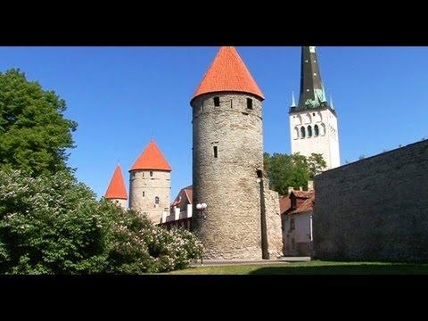 FOOTLOOSE IN TALLINN DVD - travel guide video