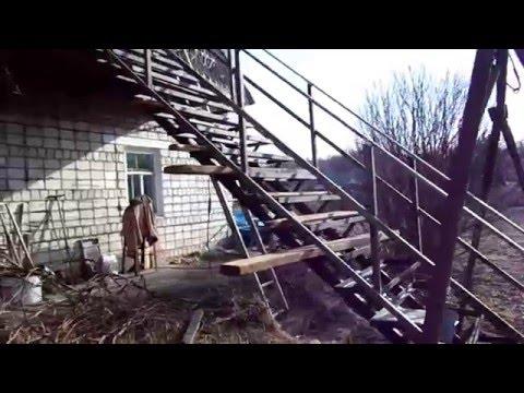 Как сделать самому лестницу.