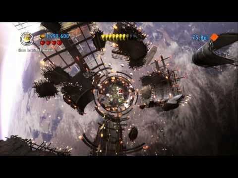 LEGO City Undercover (Wii U) - Epic Space Descent & Ending (Unlocking Rex Fury)