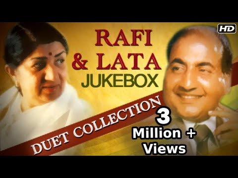 Mohammad Rafi & Lata Mangeshkar - Best Duet Songs Jukebox - Old Hindi Songs Collection