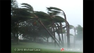 Hurricane WILMA (High Quality) - Belle Meade, Florida - October 24, 2005