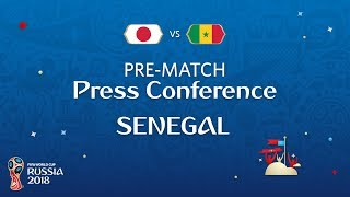 FIFA World Cup™ 2018: JPN vs SEN : Senegal Pre-Match Press Conference