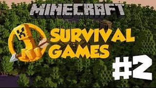Minecraft | SurvivalGames #2 | Neden Video Gelmedi !!