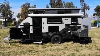 Brand New Campermates 15ft Hybrid Off Road Caravan Pop Top Camper Extendable
