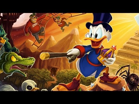 Утиные истории (duck tales remastered) 2015 for android прохождение часть #7 Везувий. Окончание