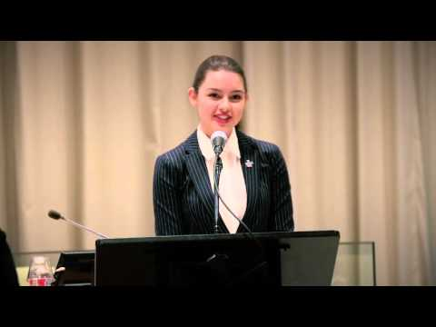 Fátima Ptacek | International Women's Day Remarks at the United Nations