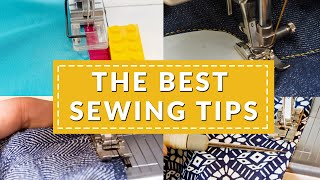 10 game-changing sewing tips | Sew like a pro