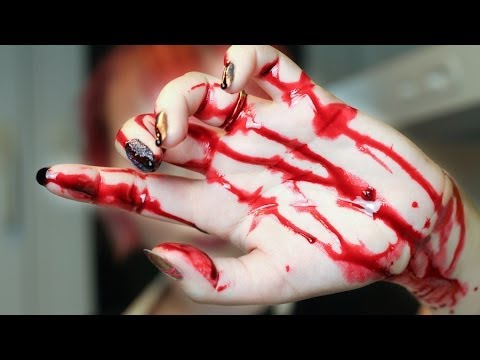 DIY Jak Zrobić Krew ?  [ Red Lipstick Monster ]