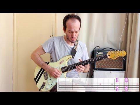 Las 5 Posiciones Pentatónica con dos dedos - Super Fácil Solos Guitarra