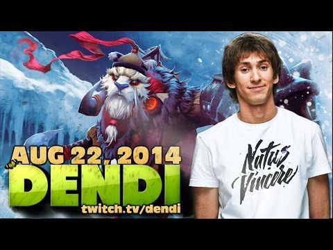 Dota 2 Stream: Na`Vi Dendi - Tuskar (Gameplay & Commentary)