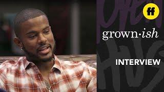 Trevor Jackson Interview   The Kickback: Episode 1   grown-ish x attn