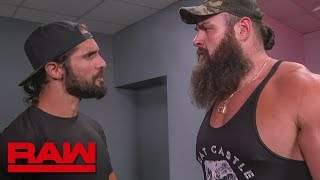 "Braun Strowman upset by ""Stone Cold"" Steve Austin entering contract negotiations: Raw, Sept. 2, 2019"