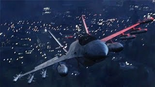 GTA V: FIGHTER JET - AREA 51! HD 1080i GAMEPLAY