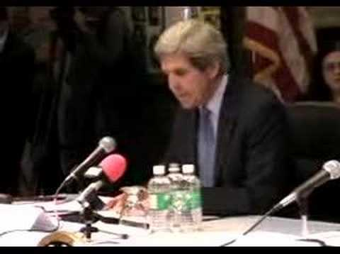 Senator John F. Kerry on the energy crisis