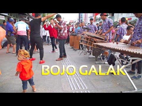 BOJO GALAK -  Angklung Malioboro CAREHAL (Pengamen jogja) Dangdut Koplo Cover (Pendhoza)