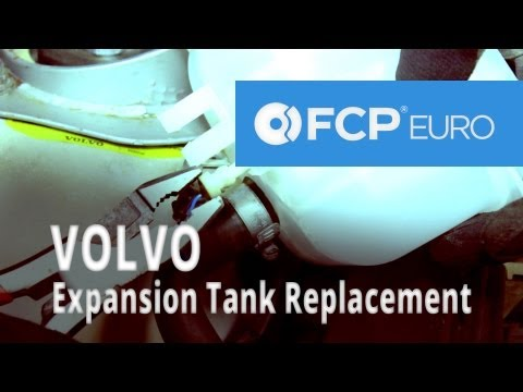 Volvo Coolant Expansion Tank Replacement (850 Turbo) FCP Euro