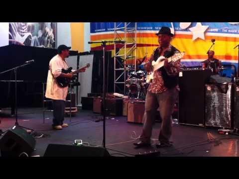 NAMM live funky jam, 1/13/11 - 1