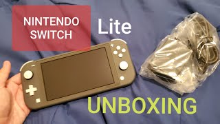 Nintendo Switch Lite - Launch Day UNBOXING (Gray)