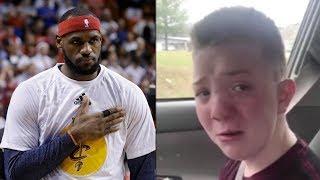 LeBron James RESPONDS to School Bullying Victim Keaton Jones' Video