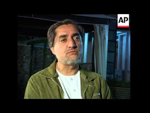 EDIT Presidential candidate Abdullah Abdullah on outcome of election