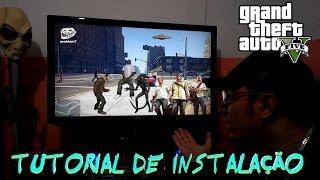 GTA V 5 PC TUTORIAL DE INSTALAÇÃO NO WINDOWS 7 ULTIMATE 100% FULL BY OLIVEIRA HD 1080p