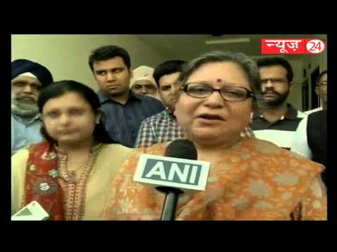 Arun Jaitley's wife congratulates Amarinder Singh