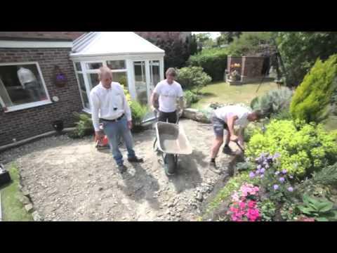 Dalles videolike - Comment poser des paves ...