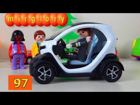 Машинки мультфильм - Город машинок 97 серия: Электромобиль. Развивающие мультики для детей mirglory