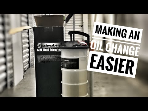 Easier Oil Changes with an Oil Extractor