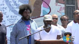 The Roots - Philly Mural Dedication