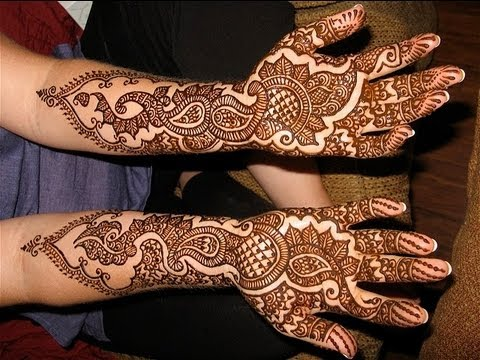 Simple and Easy to do Bridal Mehendi Henna Art :