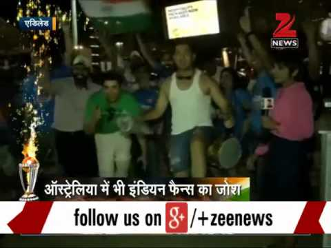 2015 ICC World Cup: Fans celebrate India's victory over Pakistan