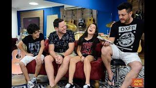 Programa Papo de Fã  com Enzo, Duda e Bruno - Gêmeos tentam acertar músicas de Bruno e Marrone