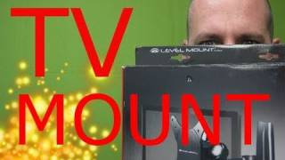 How to Mount a Flat Screen LCD TV to the Wall - Full Motion