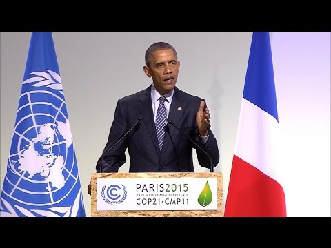 Obama Urges Action on Climate Change at Paris Talks