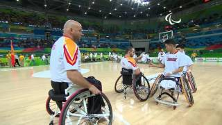 Day 2 evening | Wheelchair Basketball highlights | Rio 2016 Paralympic Games