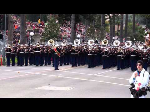 USMC West Coast Composite Band - 2013 Pasadena Rose Parade