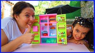 RÜYA TAMİRCİ OLDU, ÖZLEMİN YENİ OYUNCAK BUZDOLABI l New Toy Refrigerator For Kids