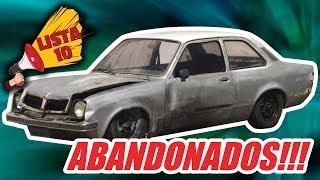 10 CARROS MAIS ABANDONADOS NO BRASIL